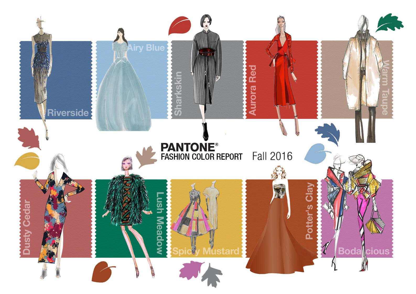 colori moda autunno inverno 2016 2017